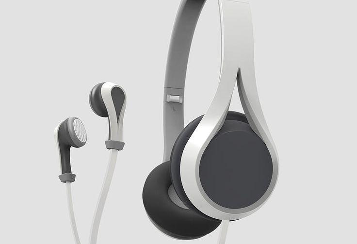 Oova Headphones earphones - Design by Marine Demeyere