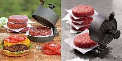 Πρέσα μπιφτεκιών για burger