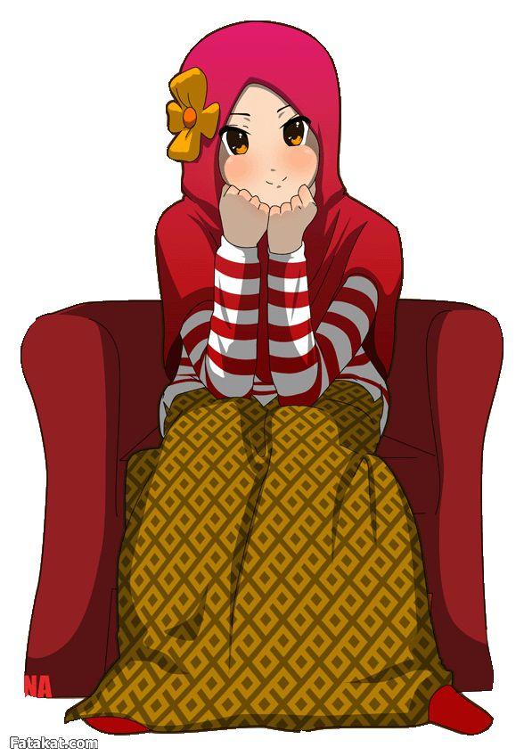 Hijab_Muslimah_anime_drawing