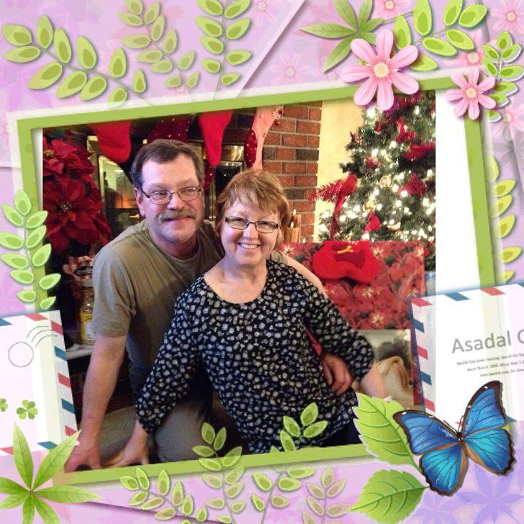 Me and Fred , Christmas 2013