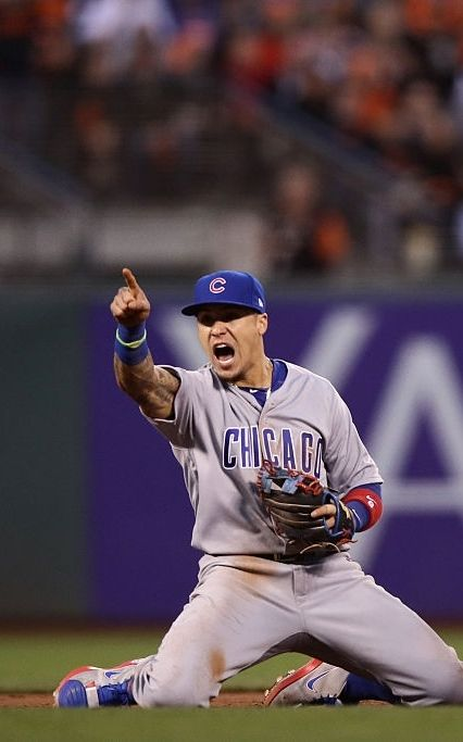 Javier Baez, CHC//Oct 11, 2016 Game 4 NLDS at SF