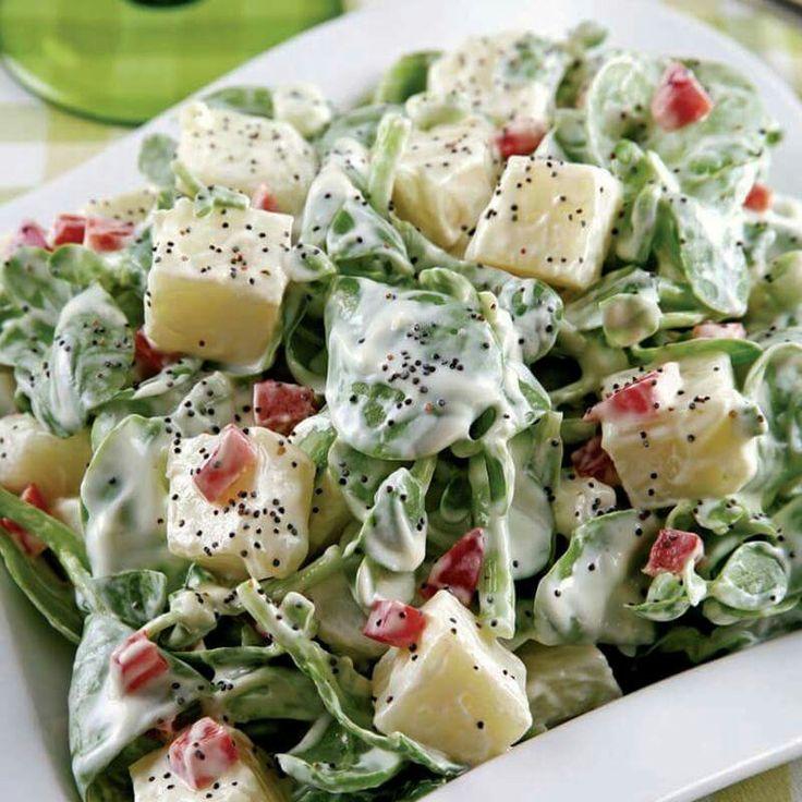 Patatesli #Semizotu Salatası