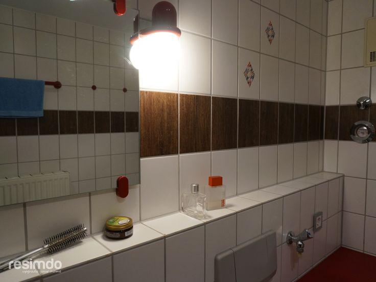 Die besten 25+ Fliesenfolie Ideen auf Pinterest Dachbodenausbau - deko ideen badezimmer wandakzente