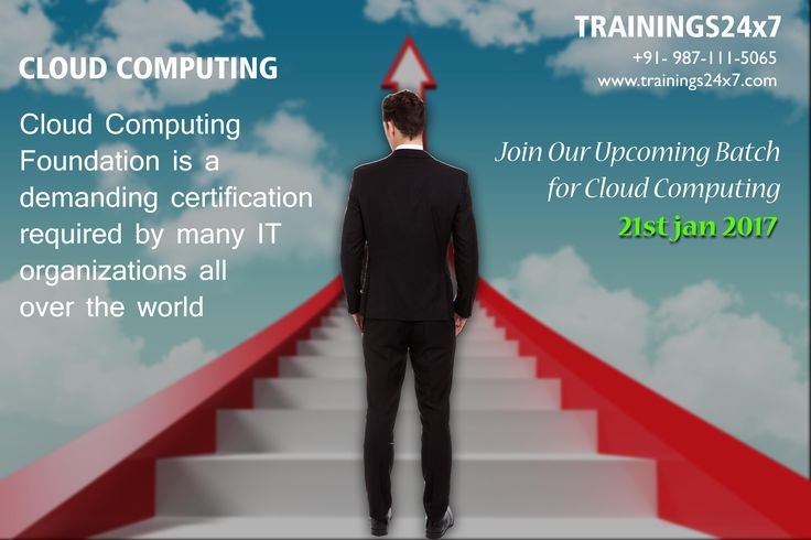 When you are CloudCertified you manage your customers without worrying about the Infrastructure. Benefits of Cloud Certification: 1. Helps you to develop a business case for moving services to the cloud. 2. More job opportunities. 3. Stability in recessions. 4. Globally accepted by IT organizations. 5. Stand out from the crowd as an extra skills and knowledge.