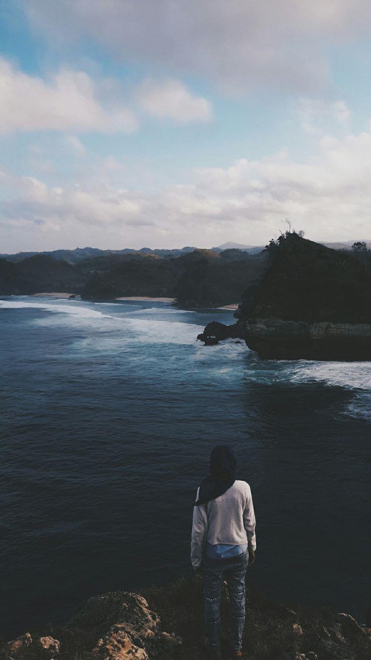 #Travel #Traveler #Hijab #Malang #Indonesia #Beach
