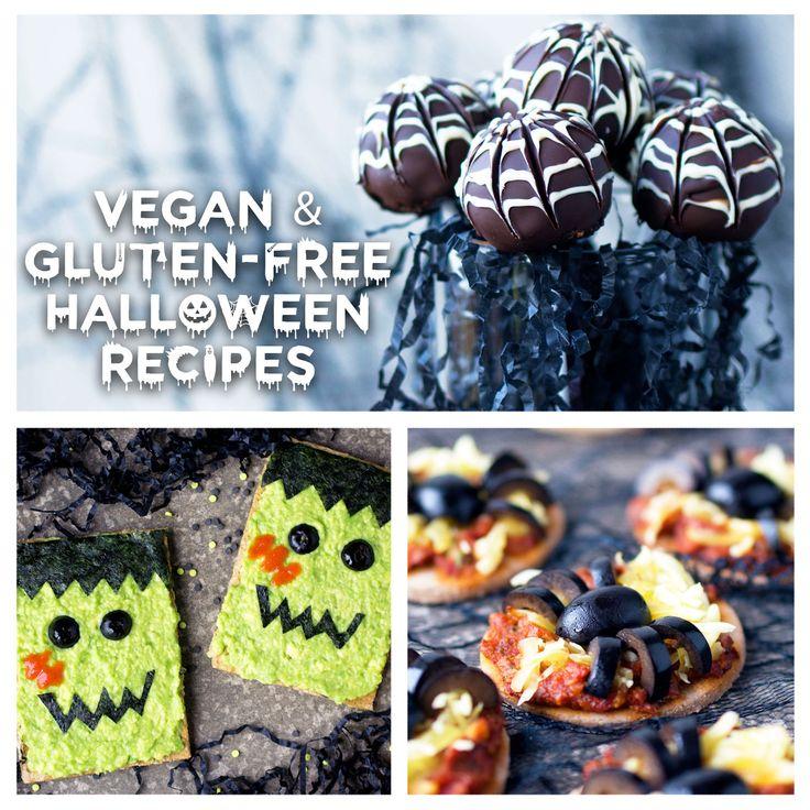 Vegan Gluten Free Halloween Recipes Uk Health Blog Nadia S Healthy Kitchen Gluten Free Halloween Gluten Free Halloween Food Halloween Recipes