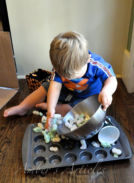 Cool blog for toddler activities, especially for boys. This mom is cre-a-TIVE! More importantly, even though you might think of some of these ideas, now you've got them all in one place to REMIND you!