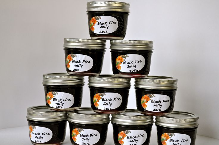 "blackberry habanero ""black fire"" jelly"