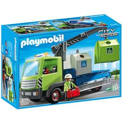 Playmobil City Action Glass Sorting Truck