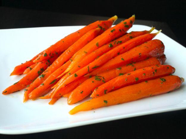 Glazed sous-vide carrots. [Photographs: J. Kenji Lopez-Alt]... 1 hour at 183 degrees F