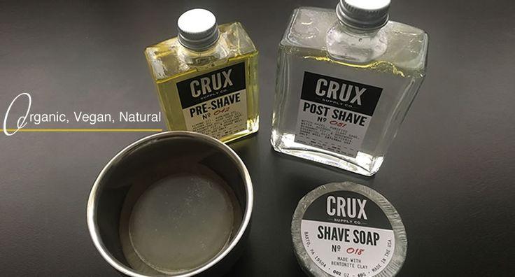 CRUX shaving supplies