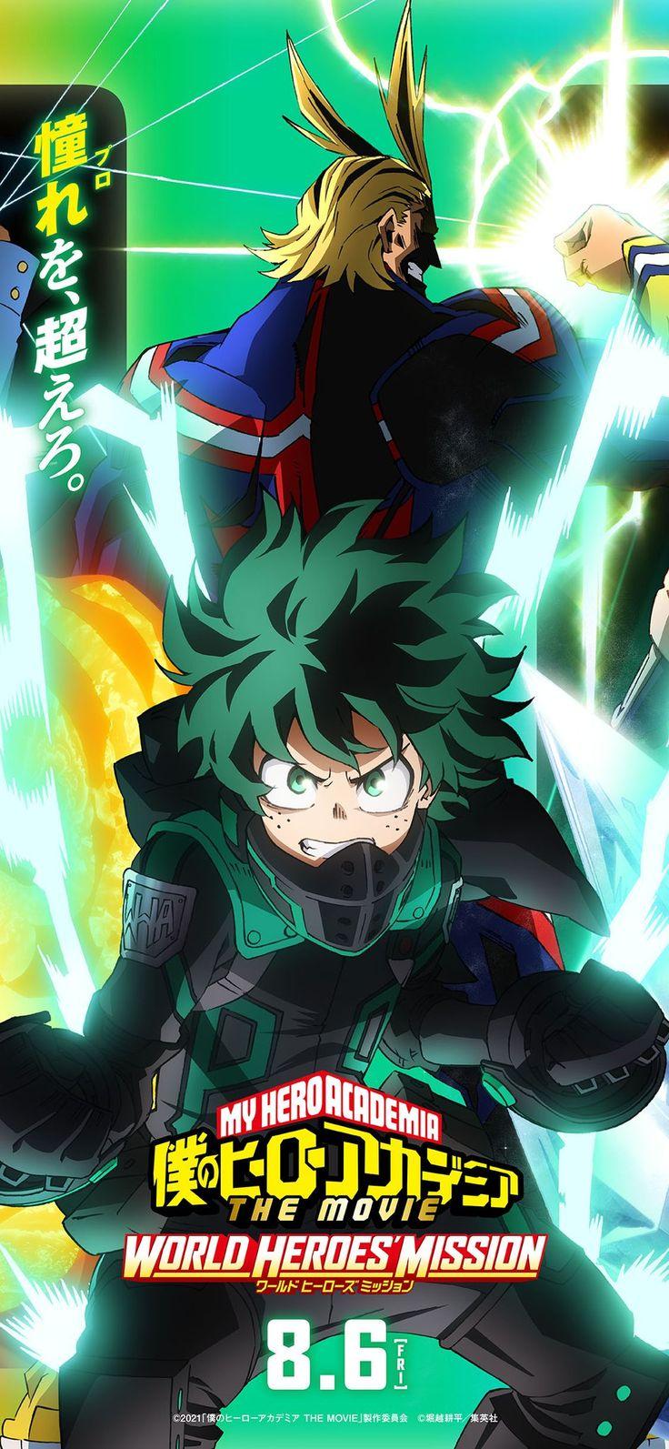 Boku No Hero Academia On Twitter In 2021 Hero World Hero Movie Hero Wallpaper