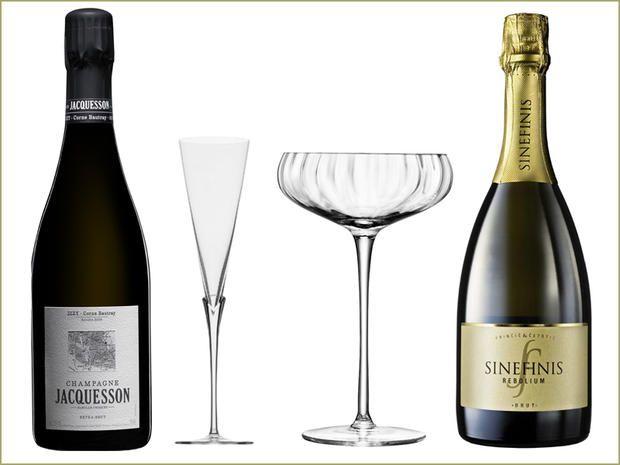 Il brindisi di Capodanno è chic: calici, flûte, coppe e secchielli da champagne, gli accessori perfetti per il cin cin del 31 dicembre
