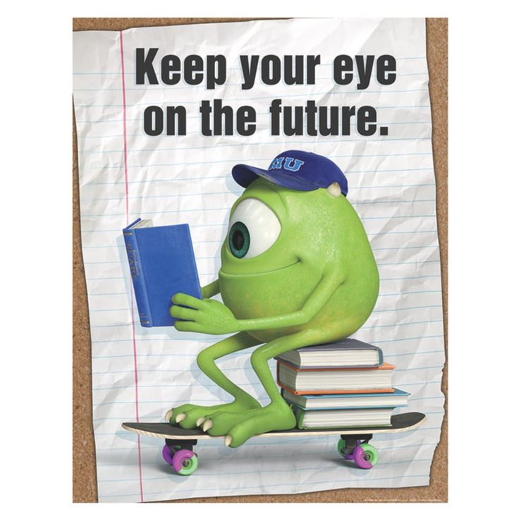 "Eureka® 17"" x 22"" Poster; Monsters University® Eye On The Future 