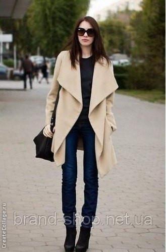 Купить стильное очень короткое пальто