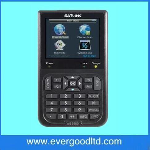 Original Satlink WS-6905 Localizador de Sinal Digital Terrestre (DVB-T) Satlink 6905 Localizador WS6905
