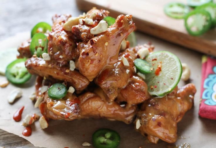 Pad Thai Chicken Wings |