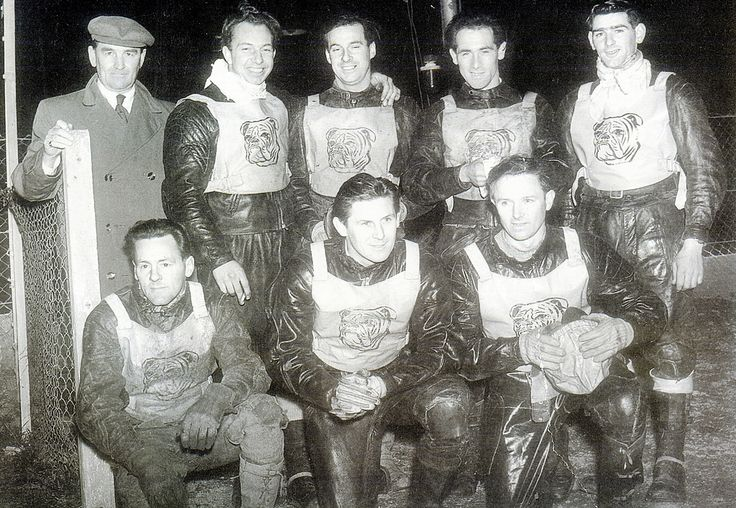 1955 Bristol Bulldogs Speedway Team | by brizzle born and bred