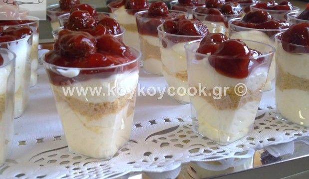 Σφηνάκια Cheesecake, από την Ρένα Κώστογλου και το Koykoycook.gr!