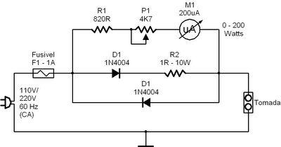 Medidor de Consumo de Energia Elétrica de Eletrodomésticos Comuns