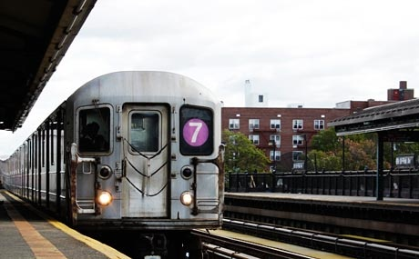 """Queens is New York City's most international borough, so a ride on the 7 train—the purple-hued subway line that cuts through Long Island City, Sunnyside, Woodside, Jackson Heights, Elmhurst, Corona and Flushing—can feel like a journey around the globe. Indeed, in 1999, the route was named one of 16 """"National Millennium Trails"""" representing the legacy of the United States, as it features an abundance of immigrant neighborhoods along its stops. Riding the 7 is certainly an essential NYC…"""
