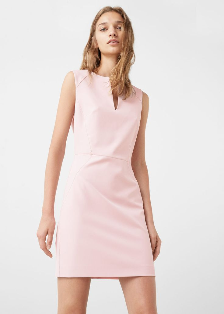 Shift dress - Dresses for Woman | MANGO Greece