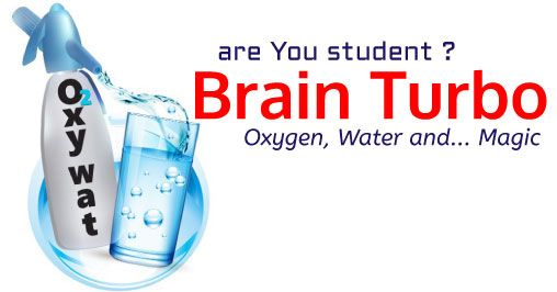 Brain Turbo for students with Oxywat