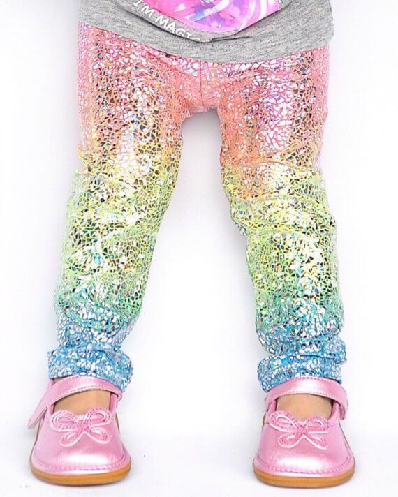 Unicorn leggings for toddlers and adults