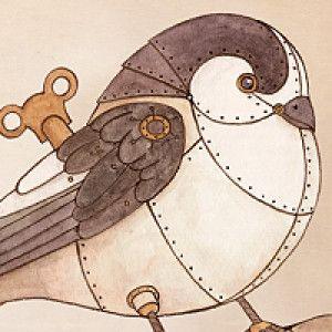 steampunk animal drawings - Google Search | Steampunk bird ...