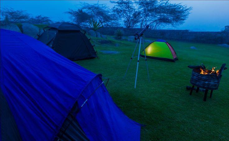 Get closer to nature with camping experience at Surajkund. http://www.vivantabytaj.com/surajkund #Camping #Camp #Bonfire