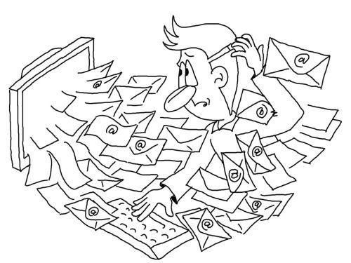 Karikatur eMail