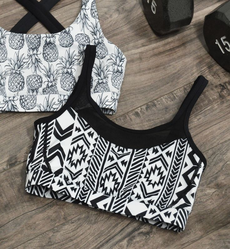 Aztec Mesh Sports Bra - Available June 13th @ 1:00pm Hawaii time!