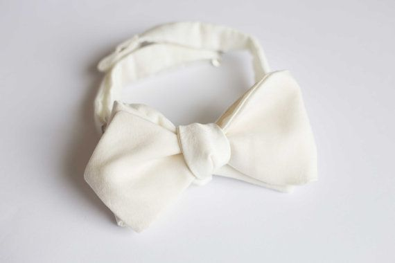 Wedding bow tie on Etsy