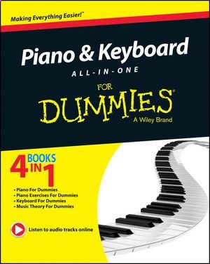 This indispensable resource combines the best of For Dummies books, including Piano For Dummies, Keyboard For Dummies, Music Theory For Dummies, and Piano Exercises For Dummies to get you up and running in no time. The handy reference helps you to master the traditional black-and-white keys and gives you an understanding of the possibilities that unfold when those black-and-whites are connected to state-of-the-art music technology.