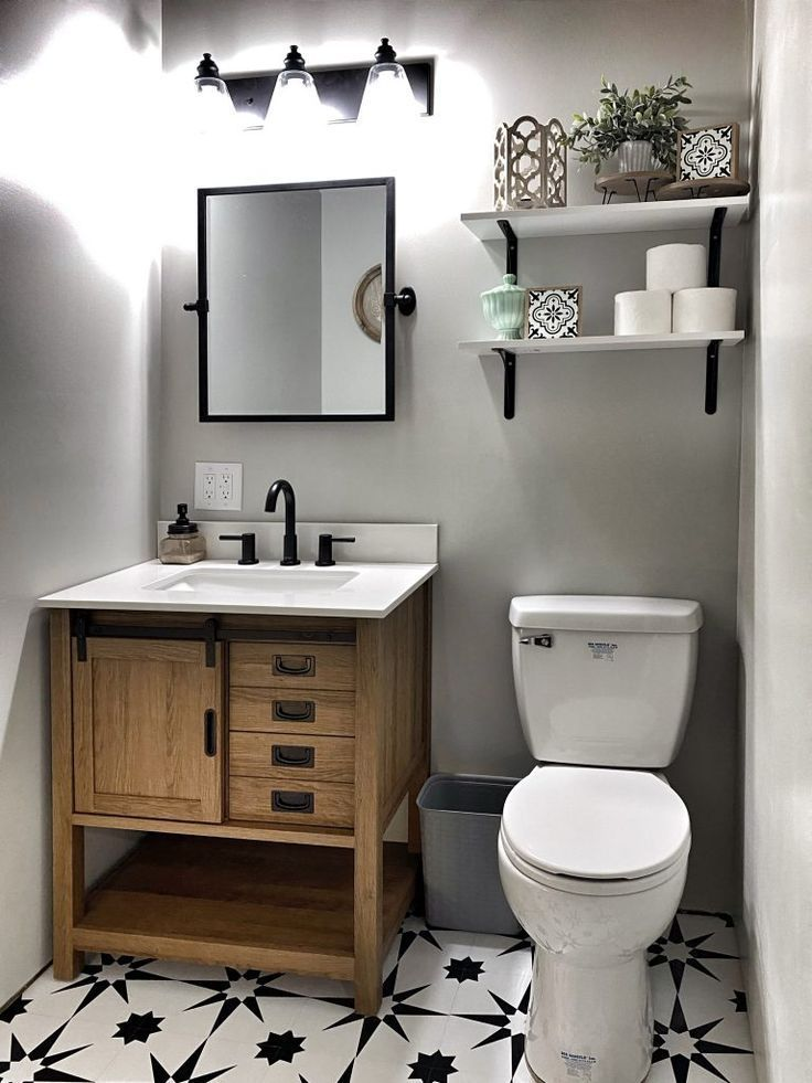 Basement Bathroom Small Half Bathrooms, Diy Basement Bathroom