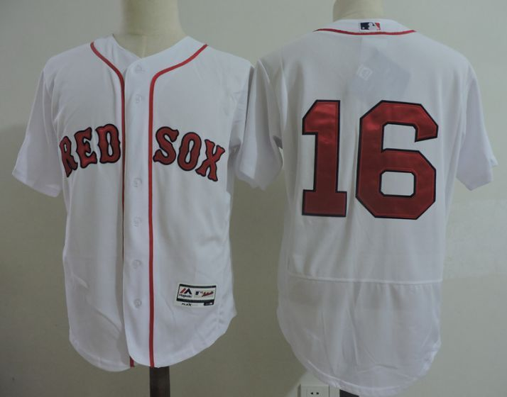 fc2966c98b0 Men Boston Red Sox 16 Andrew Benintendi White Elite MLB Jerseys ...