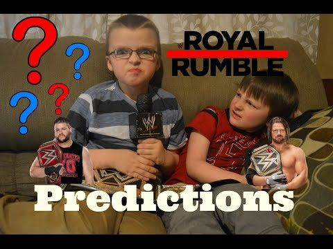 Our WWE 2017 Royal Rumble Predictions! - YouTube
