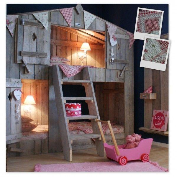 17 beste idee n over meisjes stapelbed op pinterest kinderstapelbed stapelbed decor en - Kamer jaar oud ...