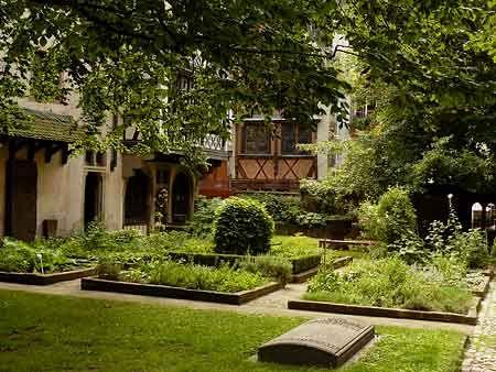 Jardin gothique du musée de l'Oeuvre Notre-Dame