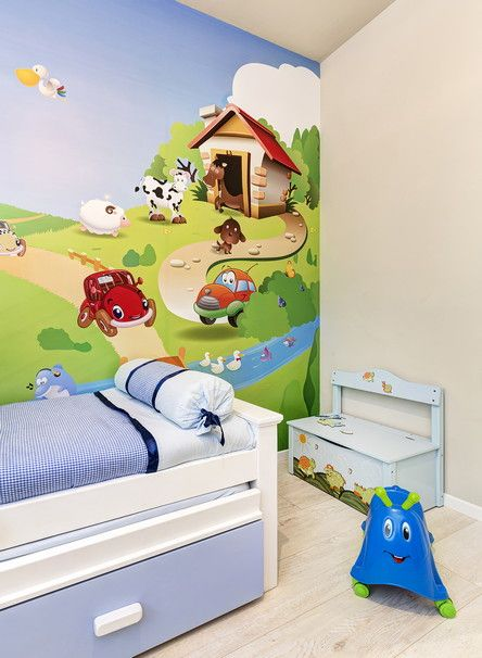 Get the cutest wallprints to your child's room