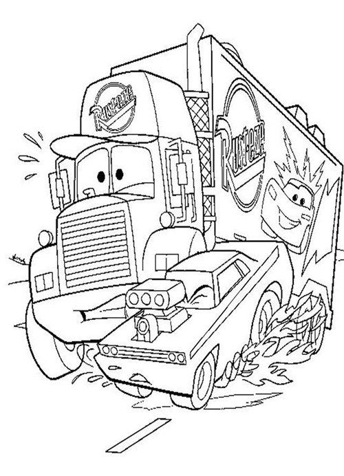 Car Coloring Pages To Print