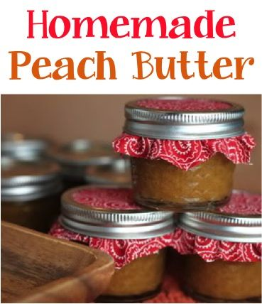Crockpot Peach Butter Recipe!