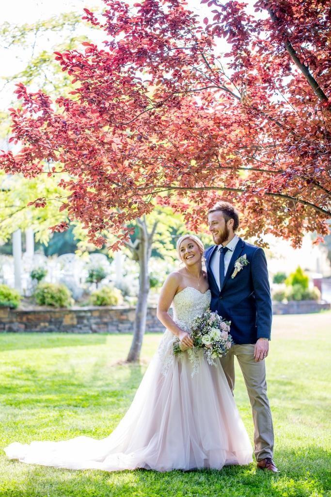 Jamie & Dylan married at Stevens Estate Garden on 21/10/17, captured by Elspeth Hope Photography