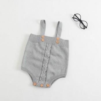 Lovely Knitted Slip Bodysuit for Babies