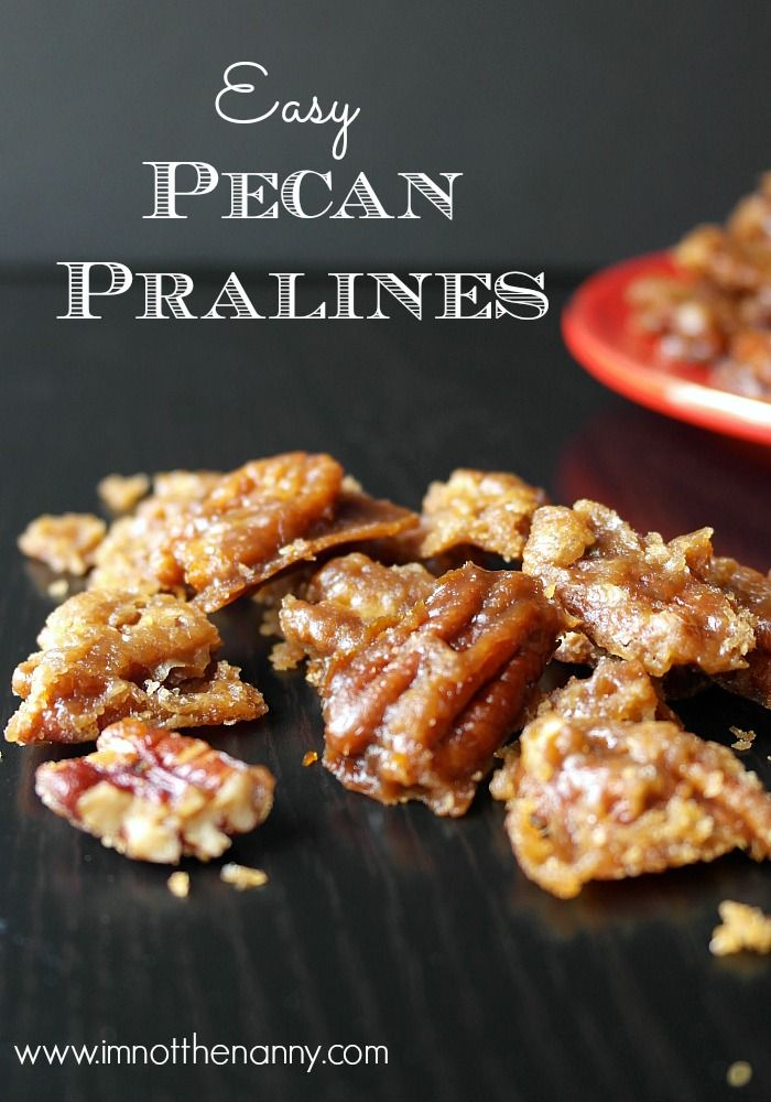 Easy Pecan Pralines – This DIY candy recipe is easy and delicious! Give these nutty treats to your friends as gifts over the holidays.