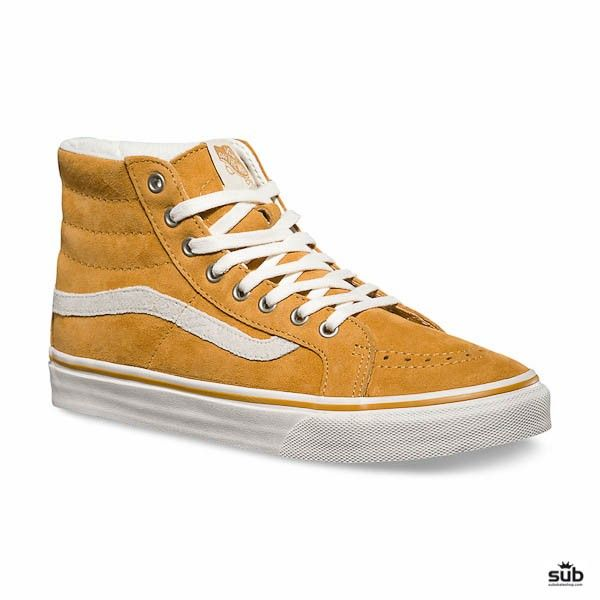 c9fdc91634 vans high skate gold