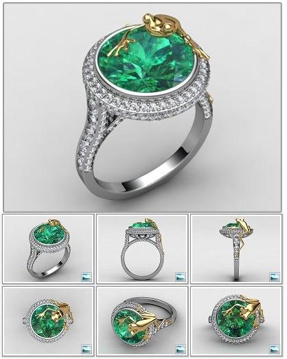 The DiamondGeezer.com Frog Ring