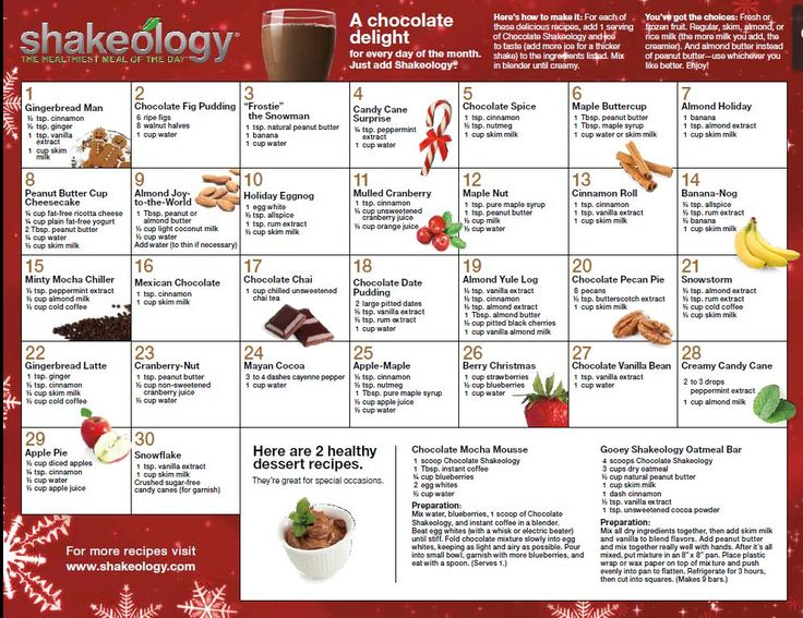 Chocolate Shakeology recipes www.findshake.com