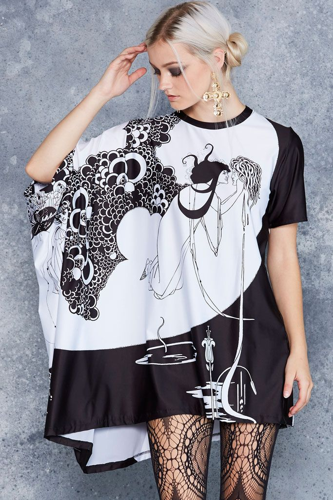 Beardsley Super Drape Top - CAPPED PRESALE ($99AUD) by BlackMilk Clothing