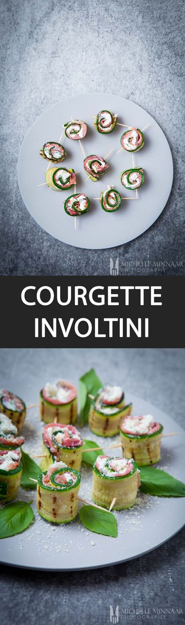 Courgette Involtini With Prosciutto di San Daniele and Grana Padano Cheese - {NEW RECIPE} Wow family and friends this #Christmas with #Courgette #Involtini, made with #Prosciutto di San Daniele & Grana Padano